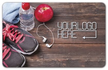 """Work Out Gift Card, 3 3/8 x 2 1/8"""""""