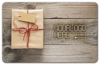 Wrapped Gift Card, 3 3/8 x 2 1/8