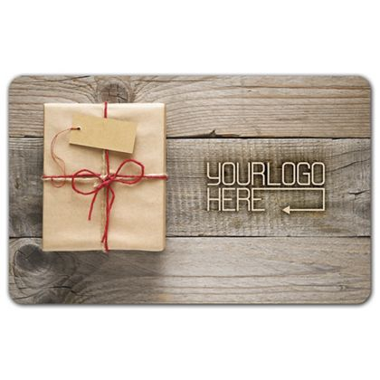 Wrapped Gift Card, 3 3/8 x 2 1/8""