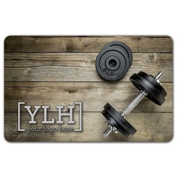 Weights Gift Card, 3 3/8 x 2 1/8