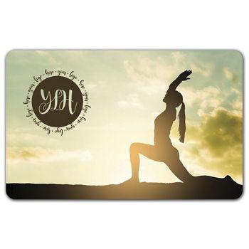 Yoga Gift Card, 3 3/8 x 2 1/8