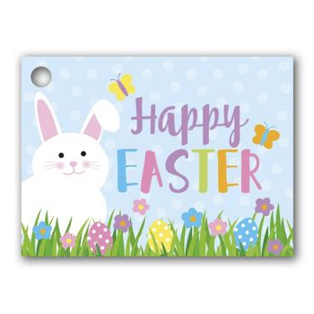 Happy Easter Gift Tags, 3 3/4 x 2 3/4