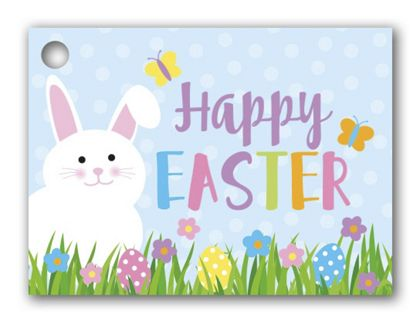 Happy Easter Gift Tags, 3 3/4 x 2 3/4""