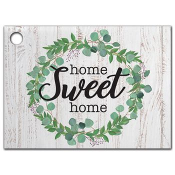 Farmhouse Home Sweet Home Gift Tags, 3 3/4 x 2 3/4