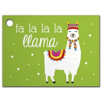 Fa La Llama Gift Tags, 3 3/4 x 2 3/4