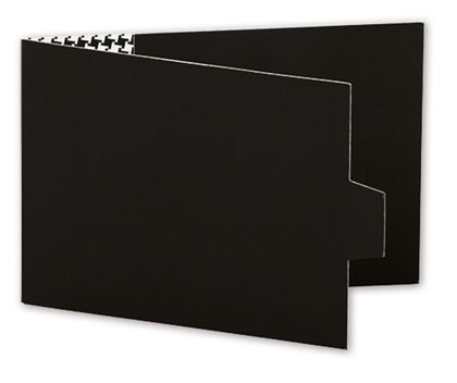 Black Swiss Billfold Gift Card Holders, 4 7/8 x 3 1/2""