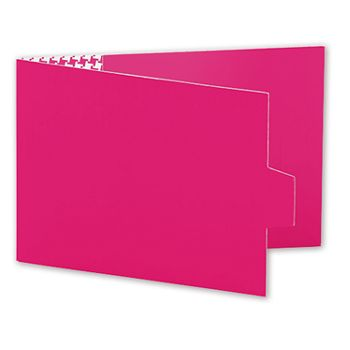 Pink Swiss Billfold Gift Card Holders, 4 7/8 x 3 1/2