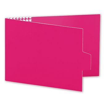 Pink Swiss Billfold Gift Card Holders, 4 7/8 x 3 1/2