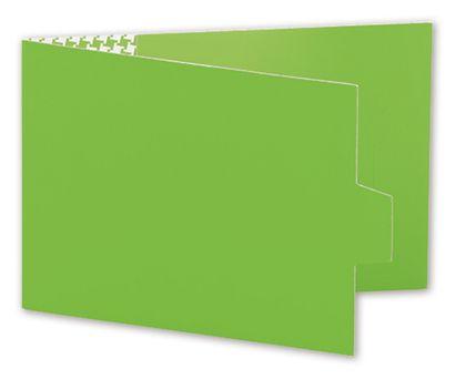 "Green Swiss Billfold Gift Card Holders, 4 7/8 x 3 1/2"""