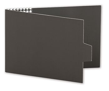 Grey Swiss Billfold Gift Card Holders, 4 7/8 x 3 1/2