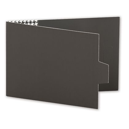Grey Swiss Billfold Gift Card Holders, 4 7/8 x 3 1/2""