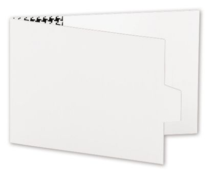 White Swiss Billfold Gift Card Holders, 4 7/8 x 3 1/2""