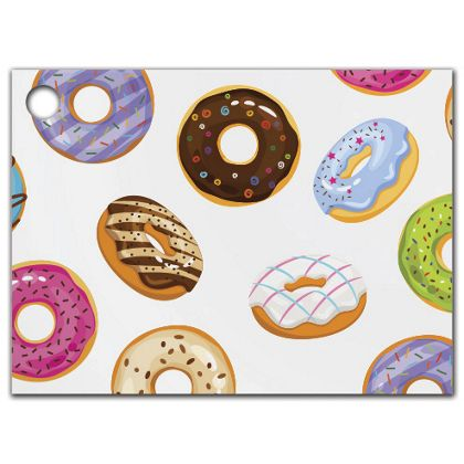 Lots of Donuts Gift Tags, 3 3/4 x 2 3/4""