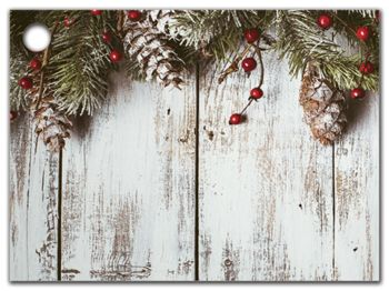 Rustic Gift Tags, 3 3/4 x 2 3/4