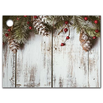 """Rustic Gift Tags, 3 3/4 x 2 3/4"""""""