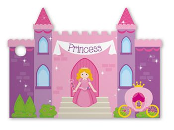 Princess Castle Intricut Gift Cards, 3 3/4 x 2 3/4