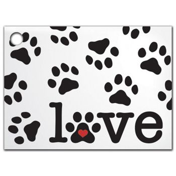 Puppy Love Gift Tags, 3 3/4 x 2 3/4