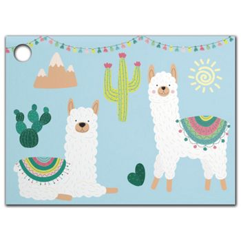 Party Llama Gift Tags, 3 3/4 x 2 3/4