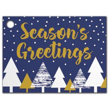 Season's Greetings Gift Tags, 3 3/4 x 2 3/4
