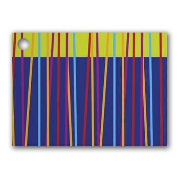 Festive Stripes Gift Tags, 3 3/4 x 2 3/4