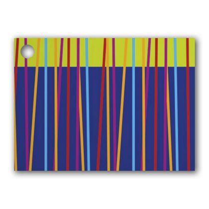 "Festive Stripes Gift Tags, 3 3/4 x 2 3/4"""