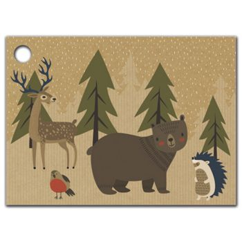 Woodland Forest Gift Tags, 3 3/4 x 2 3/4