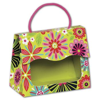 Bountiful Blooms Gourmet Gift Totes, 5 1/8x2 5/8x4 1/4