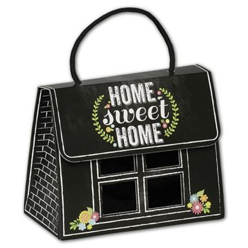 Chalkboard Home Gourmet Gift Totes, 5 1/8 x 2 5/8 x 4 1/4