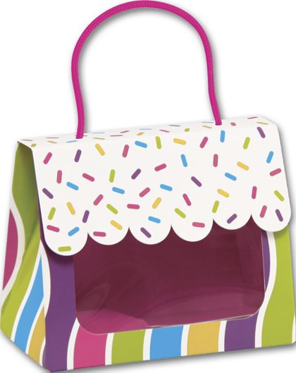 """Candy Sprinkles Gourmet Gift Totes, 5 1/8 x 2 5/8 x 4 1/4"""""""