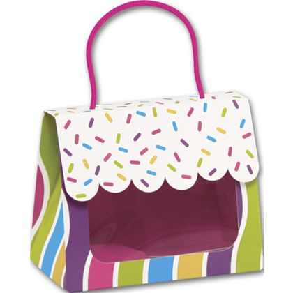 Candy Sprinkles Gourmet Gift Totes, 5 1/8 x 2 5/8 x 4 1/4""