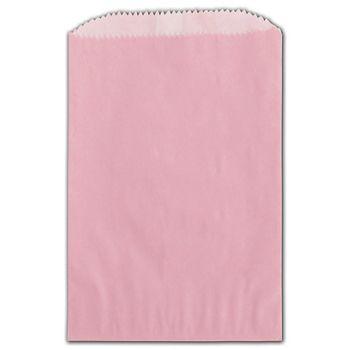 Petal Pink Grease Resistant Gourmet Bags, 4 3/4 x 6 3/4