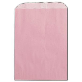 Petal Pink Grease Resistant Gourmet Bags, 5 3/4 x 7 1/2