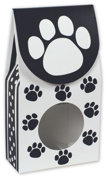 Polka Dot Paws Gourmet Window Boxes, 3 1/2 x 1 3/4 x 6 1/2