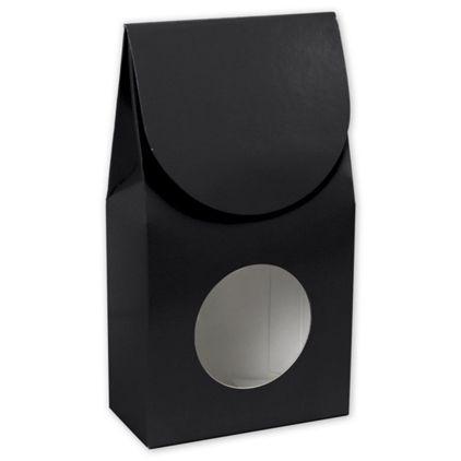 "Black Gourmet Window Boxes, 3 1/2 x 1 3/4 x 6 1/2"""