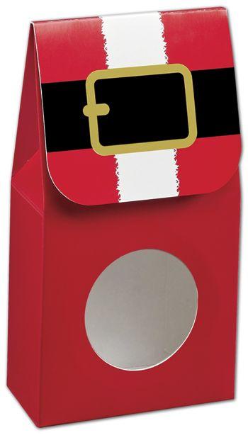 Santa's Belt Gourmet Window Boxes, 3 1/2x1 3/4x6 1/2