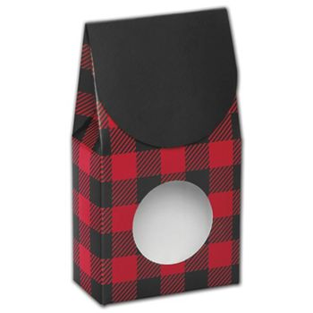 Buffalo Plaid Gourmet Window Boxes, 3 1/2x1 3/4x6 1/2