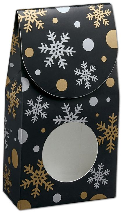 Christmas Elegance Gourmet Window Boxes, 3 1/2x1 3/4x6 1/2