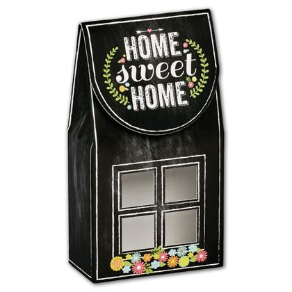 Chalkboard Home Gourmet Window Boxes, 3 1/2x1 3/4x6 1/2""
