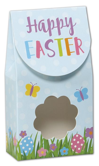"""Happy Easter Gourmet Window Boxes, 3 1/2 x 1 3/4 x 6 1/2"""""""