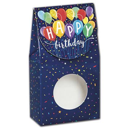 Happy Birthday Balloons Gourmet Window Boxes