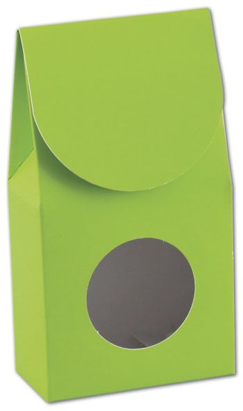 Lime Green Gourmet Window Boxes, 3 1/2 x 1 3/4 x 6 1/2