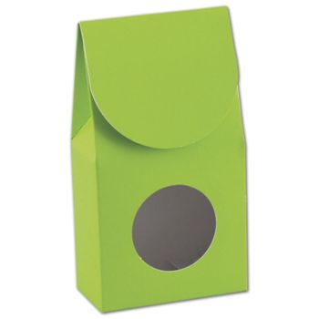 Lime Green Gourmet Window Boxes, 3 1/2 x 1 3/4 x 6 1/2""