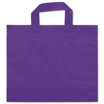 Purple Frosted Economy Shoppers, 12 x 10