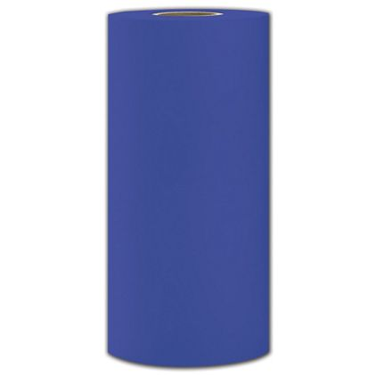 "Parade Blue Rolled Heavy Duty Tissue, 18"" x 1800'"