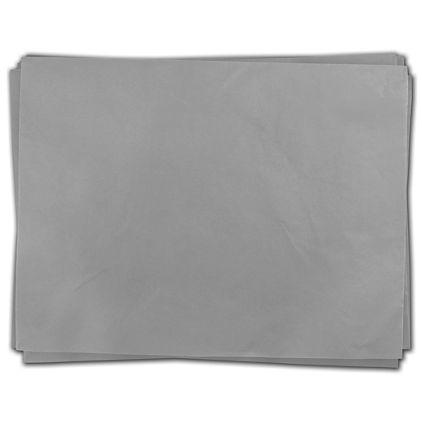 """Light Gray Heavy Duty Flat Packed Tissue, 24 x 36"""""""