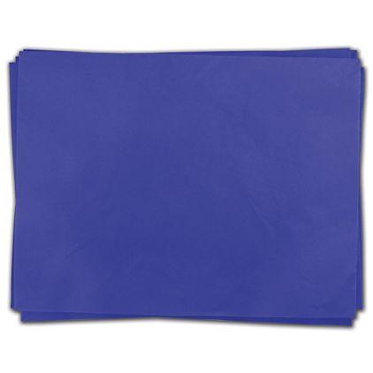Parade Blue Heavy Duty Flat Packed Tissue, 24 x 36