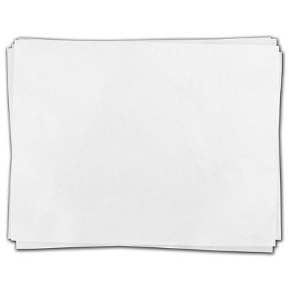 "White Heavy Duty Flat Packed Tissue, 24 x 36"""