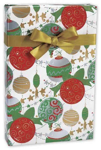 Glitter & Glitz Gift Wrap, 24