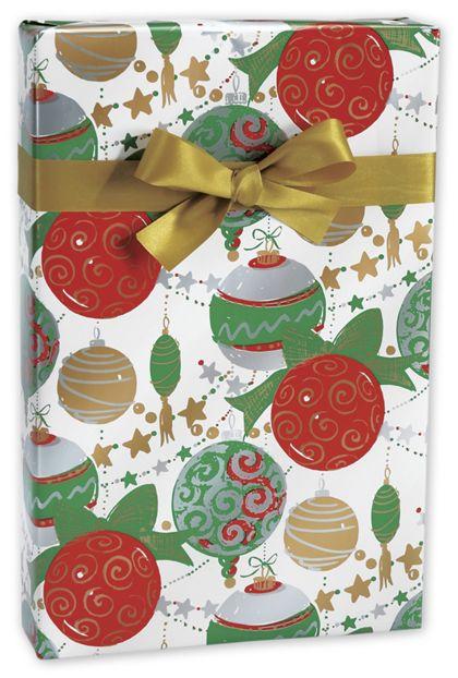 """Glitter & Glitz Gift Wrap, 24"""" x 417'"""