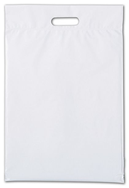 "Web White Hurry-Up Courier Bags, 14 x 21 1/2"" + 3"" Flap"